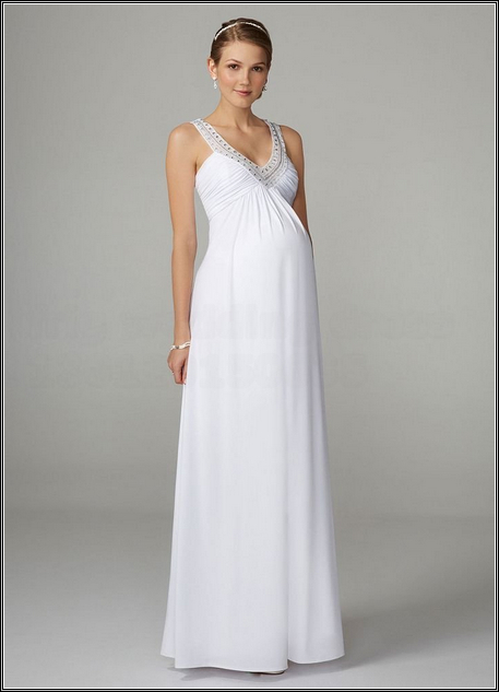 Cheap Maternity wedding dress - Pregnant Outfits