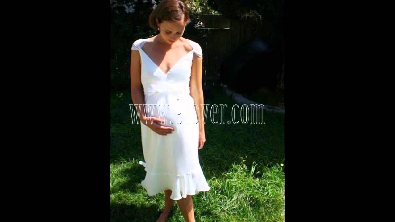 Cheap Maternity wedding dress