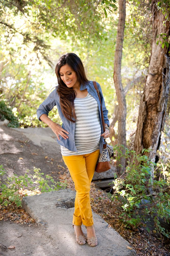 Cute Outfit Ideas During Pregnancy