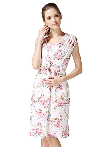 764abc5a0130c Emotion Moms Summer Flower Maternity Clothes Breastfeeding Nursing Dresses  for Pregnant Women