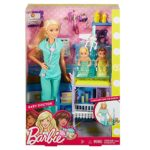 Barbie Careers Baby Doctor Barbie Playset